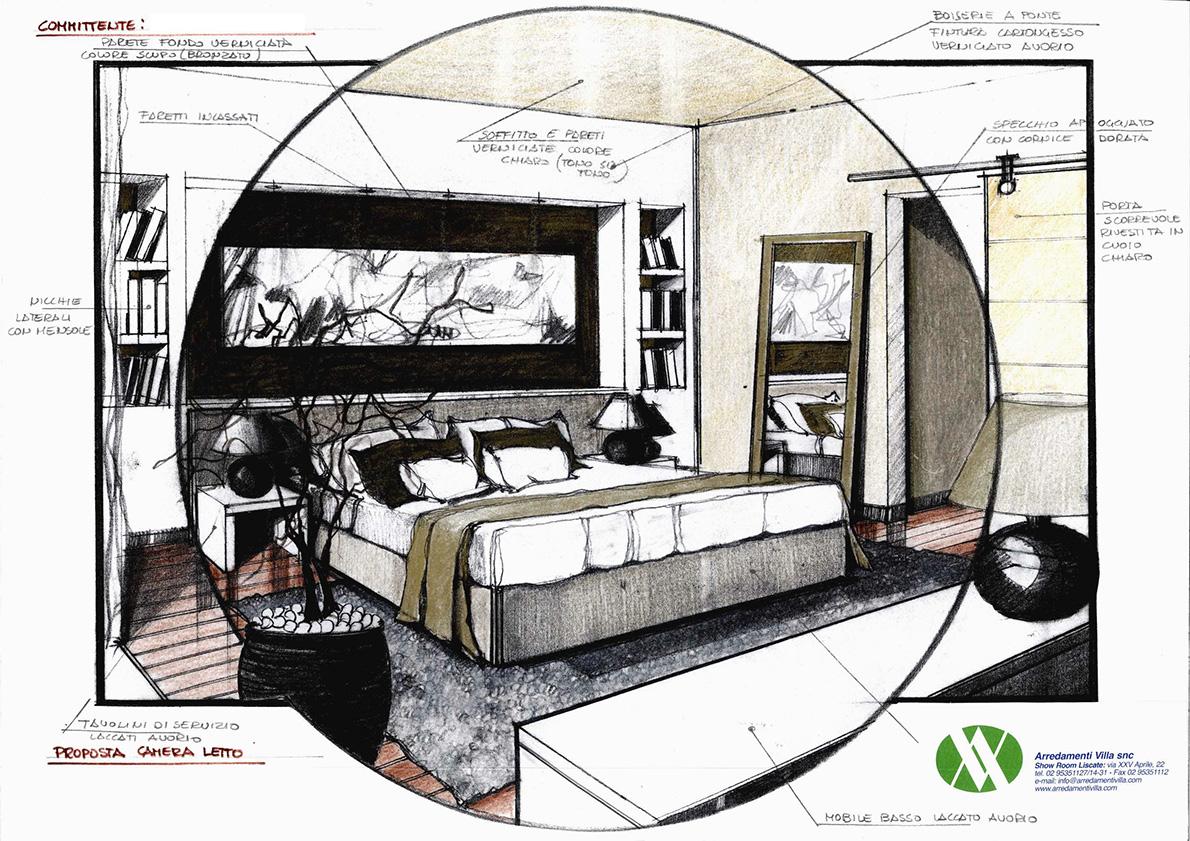 Progettazione arredamenti villa for Villa arredamenti