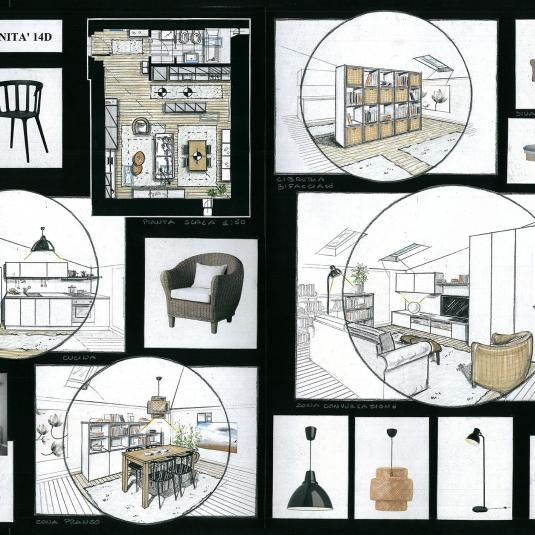App. Palazzo del Tergesteo - Trieste progettazione layout (1)