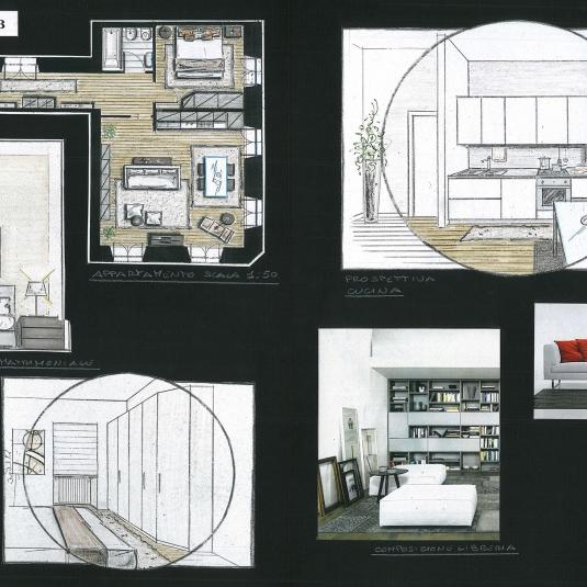 App. Palazzo del Tergesteo - Trieste progettazione layout (4)